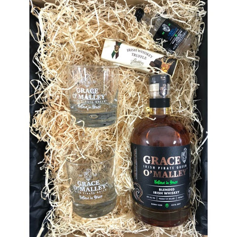 Grace O'Malley 'Pirate Queen' Irish Whiskey Gift Box