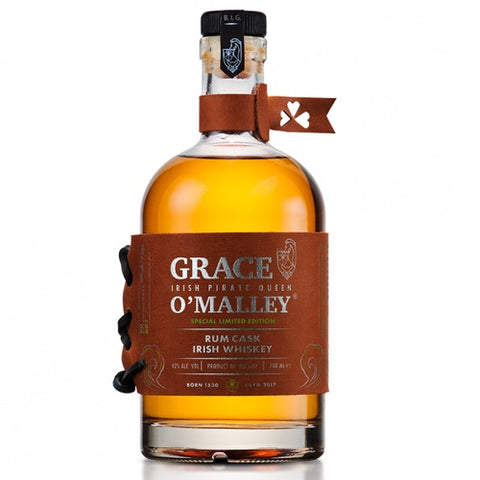 Grace O'Malley Rum Cask Irish Whiskey