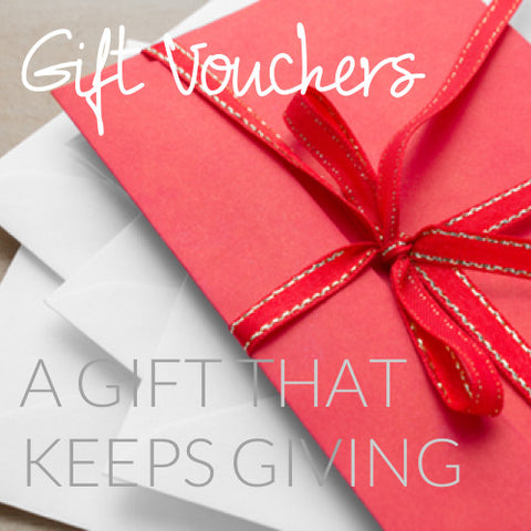 Gift Vouchers - You choose how much it's for...