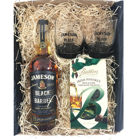 Jameson Black Barrel Irish Whiskey Gift Box