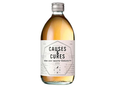 Causes & Cures, Semi Dry White Vermouth NV