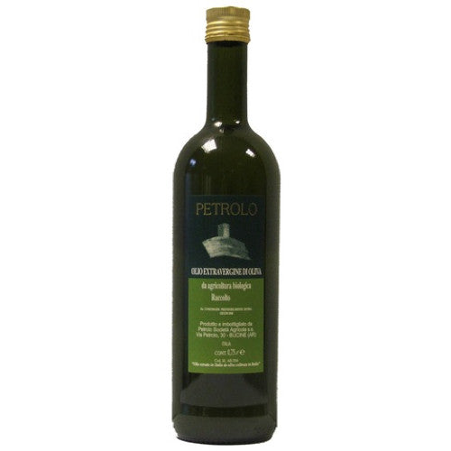 Petrolo Organic Extra Virgin Olive Oil, Tuscany, Italy 500 ml