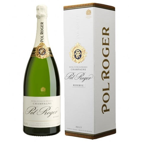 Pol Roger Champagne Single Bottle Gift