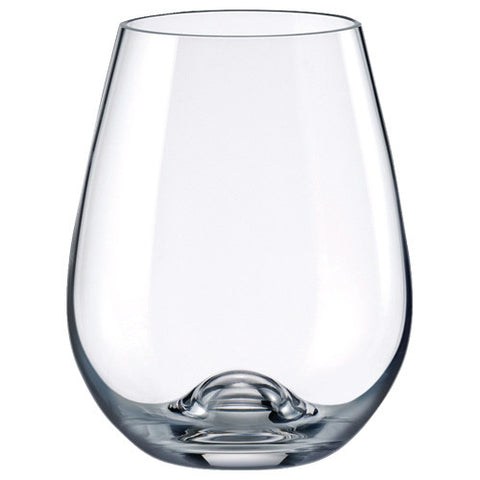 Rona 330ml Stemless Wine Glasses - Set of 6