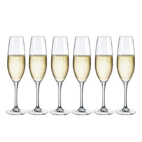 Rona Hercules City Champagne Flutes