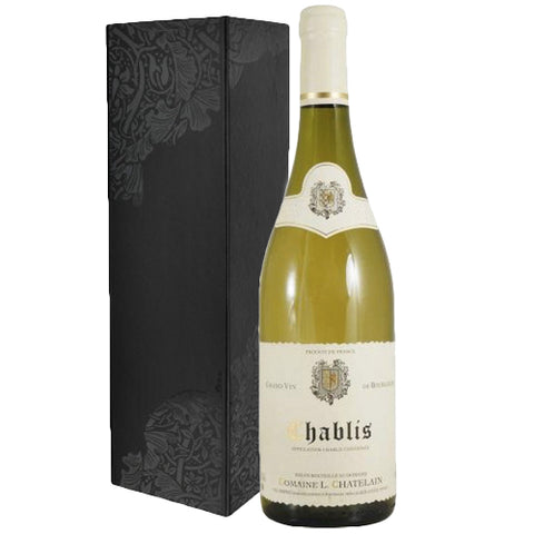 Chablis Single Bottle Gift Box