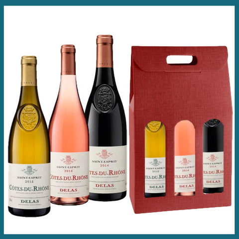 Delas Rhone Valley Gift Pack