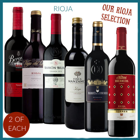 The Rioja Selection 12 Bottles
