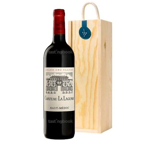Chateau La Lagune Haut Medoc 2011  Single Bottle Wooden Gift Box