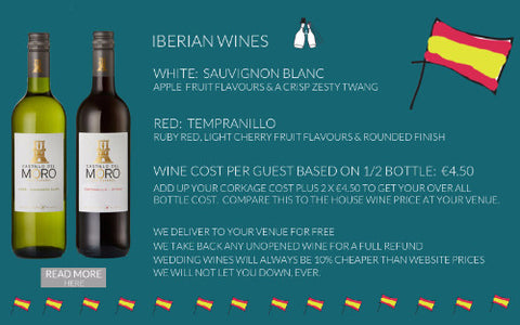 IBERIAN WEDDING PACKAGE
