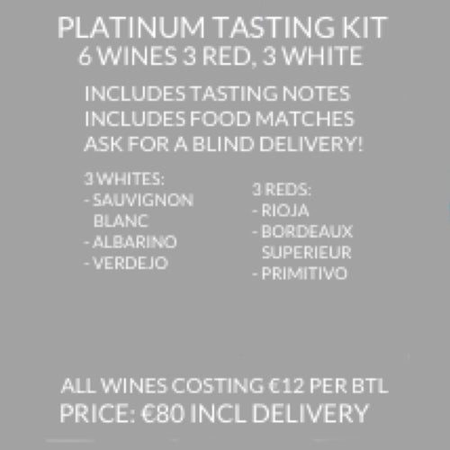 Platinum Wedding Tasting Kit (6 Wines)