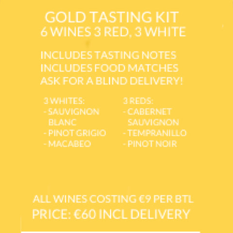Gold Wedding Tasting Kit (6 Wines)