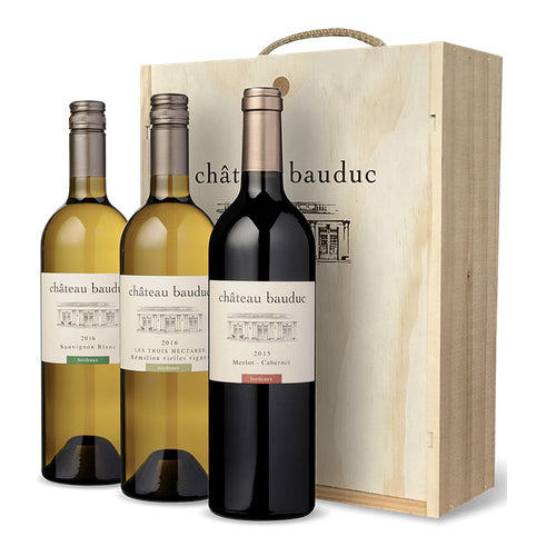 Chateau Bauduc Wooden Gift Box