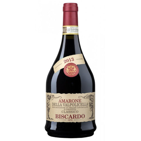 Biscardo Amarone della Valpolicella Classico Single Bottle