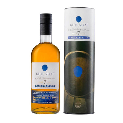 Blue Spot Cask Strength 7 year old Whiskey