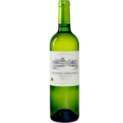 Chateau D'Haurets Bordeaux Blanc Single Bottle