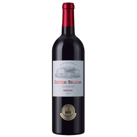 Chateau Begadan Cru Bourgeois Medoc Bordeaux Single Bottle