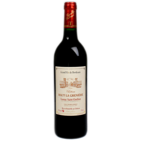 Chateau Haut La Greniere Lussac St Emilion Single Bottle