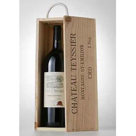 Chateau Teyssier Saint Emilion Grand Cru Magnum in Wood