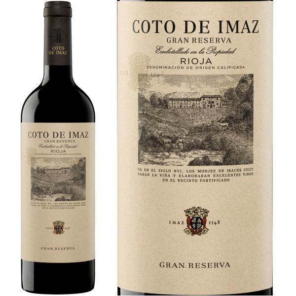 El Coto Coto de Imaz Gran Reserva Rioja 2012 Single Bottle