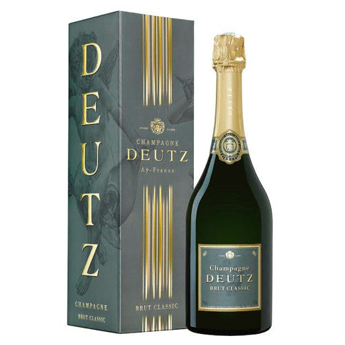 Champagne Deutz Single Bottle Gift Box