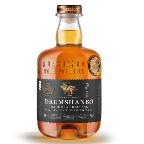 Drumshanbo Inaugural Release Single Pot Still whiskey