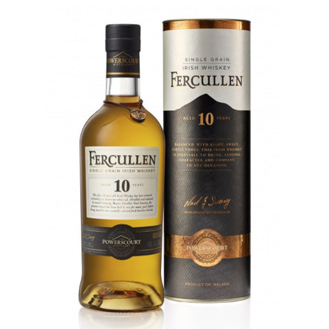 Fercullen 10 Year Old Single Grain Irish Whiskey