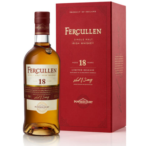 Fercullen 18 Year Old Single Malt Irish Whiskey
