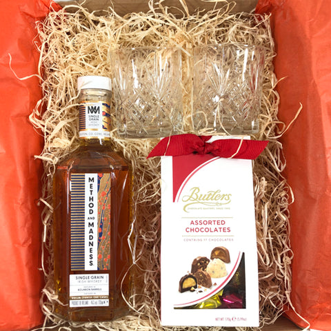 Method and Madness Single Grain Irish Whiskey Gift Box