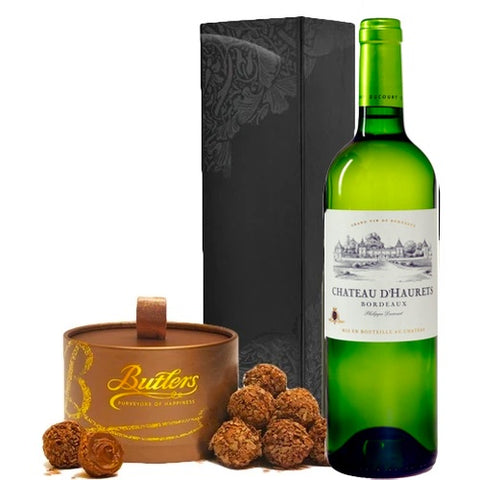 Chateau d'Haurets Bordeaux white  & Chocolates