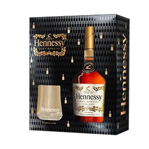 Hennessy VS Glass Pack 70cl Gift Pack