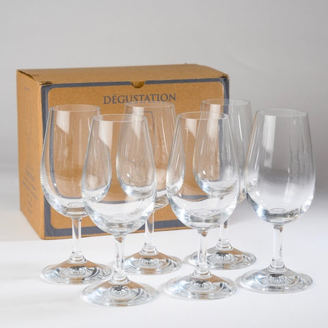 INAO Professional Wine Tasting Glasses Set of 6