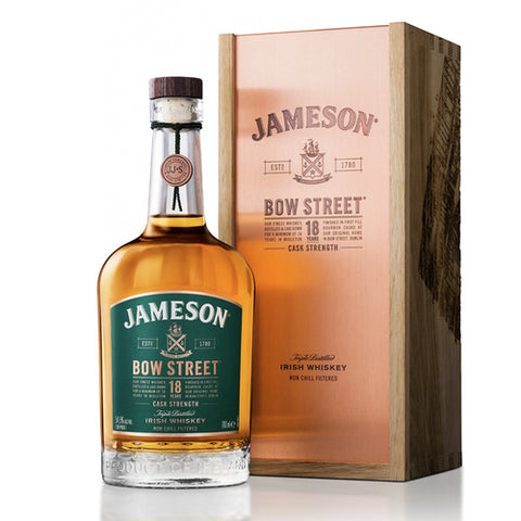 Jameson Bow Street 18 year Old Rare Cask Strength