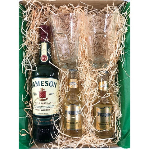 Jameson Irish Whiskey Gift Box