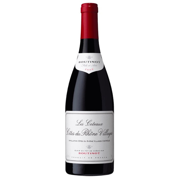 Les Coteaux Cotes du Rhone Villages Boutinot Single Bottle