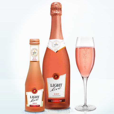 Light Live Sparkling Rose Alcohol Free Wine