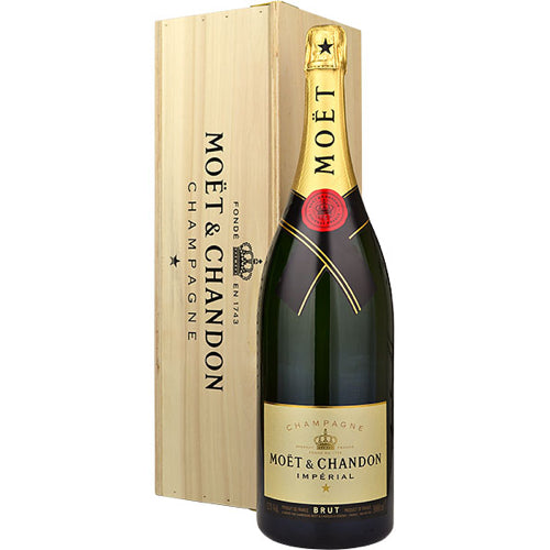 Moet & Chandon Jeroboam Wooden Case (3L)