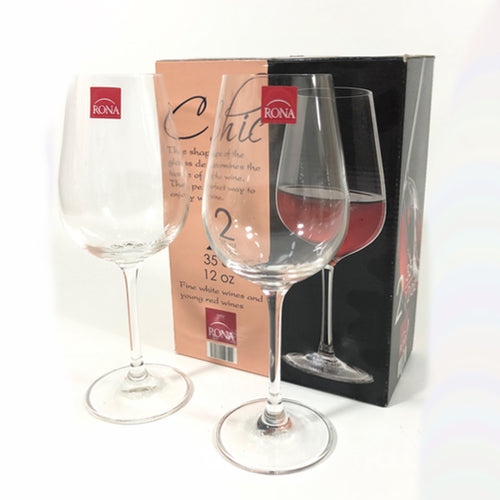Red Wine Set of 2 Wine Glasses