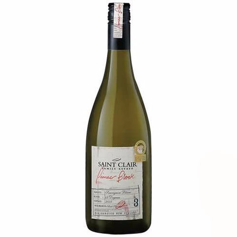 Saint Clair Pioneer Block Marlborough Sauvignon Blanc Single Btl