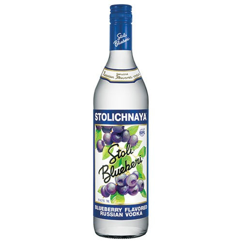 Stolichnaya Blueberry Vodka