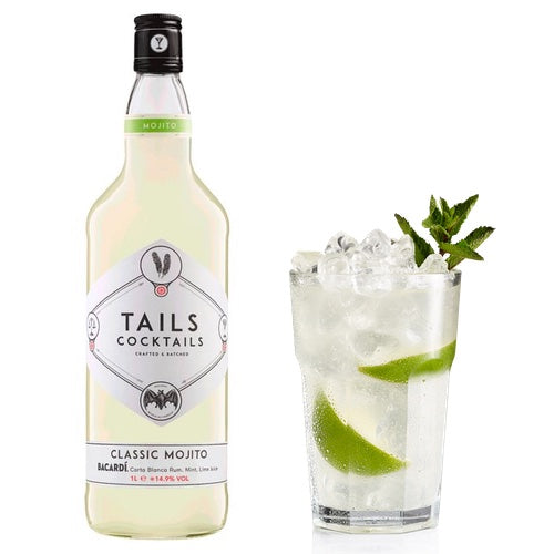 Tails Ready to Serve Mojito 100cl (8 cocktails)