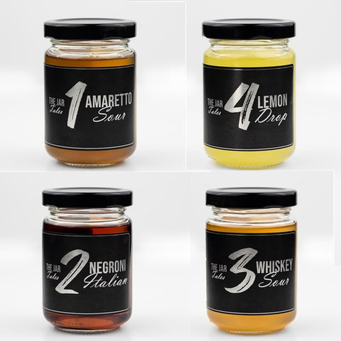 The Jar Cocktails Mixed Case  (20 Jars (4 x 5) Single Serves)
