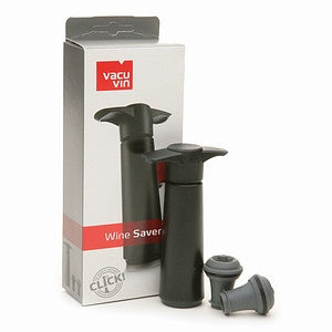 Vacuvin Wine Saver Pump & 2 bottle Stoppers