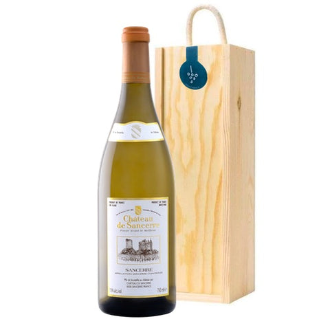 Sancerre Cheteau Single Wooden Gift Box