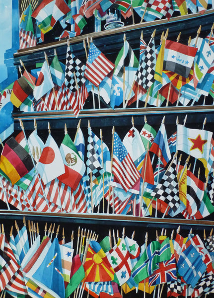 Bruce Mccombs - Flags of the Nations