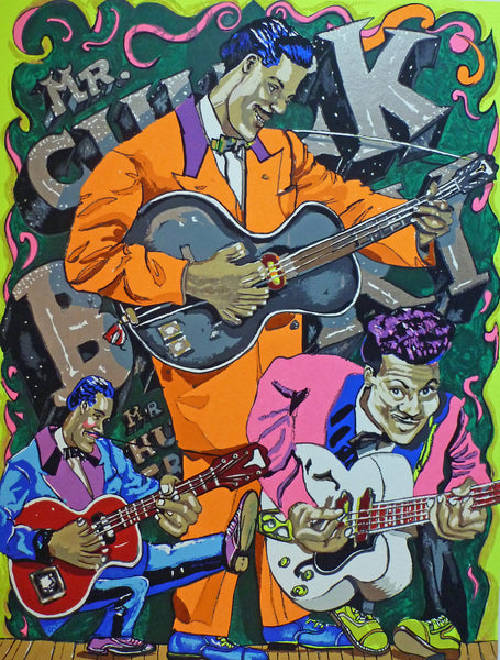Red Grooms - Mr. Chuck Berry