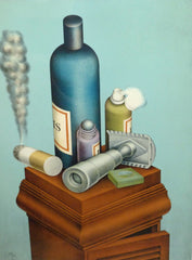 Roy Carruthers- Still Life with Razors