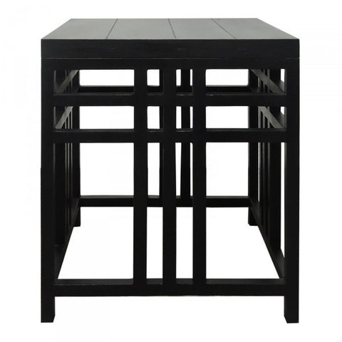 Lewis Side Table Vintage Black