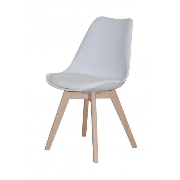 Mac Dining Chair White