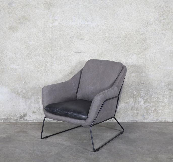 Workshop Leather & Canvas Chair Master Black